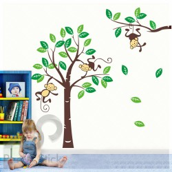 Happy Monkeys Branch Tree XXL 240x170cm ps1206