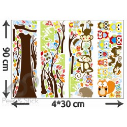 Owl Monkey Tree XXL 240x150cm ps1212